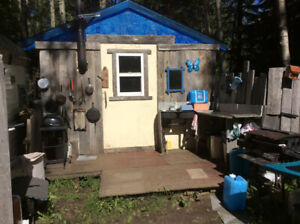 Very private secluded cabin .creek ,trees,nature++.all included