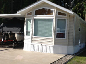 RV Lot with Park Model Trailer
