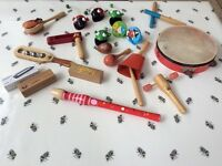 Selection of used children's musical instruments - bundle £25 or £1-£2 each