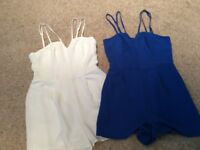 NEW LOOK UK SIZE 10 Playsuits £7 each or both for £12