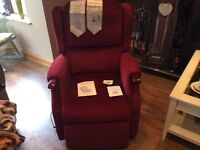 Rise and recline electric arm chair