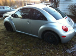 silver 1999 Beetle  Gas