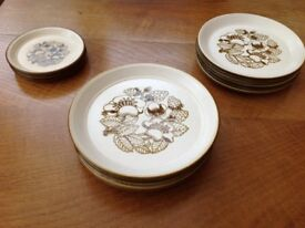Staffordshire Kiln craft 16 plates