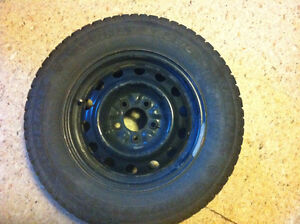 205/70R15 General Tire Arctic Winter Tires with rims
