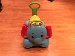 Fisher Price 3 in 1 - Bounce, Ride and Stride Elephant