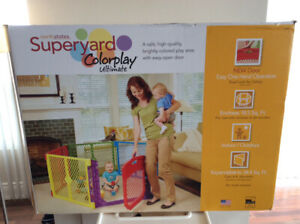 SUPERYARD COLOR PLAY ULTIMATE  FOR BABY/TODDLER. $95