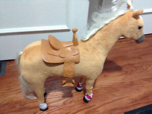 "Perfect condition My Life Posable horse for 18"" dolls for sale"