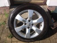 "16"" PEUGEOT 307 EQUINOX ALLOY WHEELS (ONLY 2 OF THESE) PCD 4x108 FITMENT"