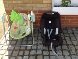 Free baby chair and carseat
