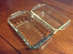 Anchor & Fire King Glass Loaf Pans