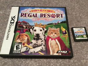 Nintendo DS -Paws and Claws Regal Resort Kitchener / Waterloo Kitchener Area image 1
