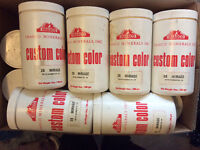 Stucco colorant