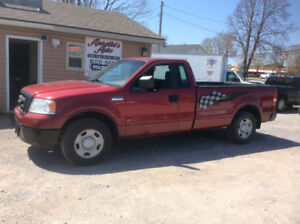 2007 F150 2wd 8' box 4.2 v6, 5 spd, 146 kms, new April MVI,$3750