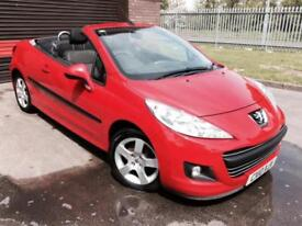 Peugeot 207 CC 1.6 VTi 120 ( 09 ) Sport HARD TOP CONVERTIBLE WITH WARRANTY