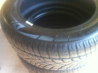 225/55r17 Dunlop Run on Flat winter SP 3D - like new