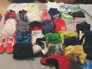6+ months baby boy clothes 36 pieces