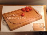 New large bamboo chopping block