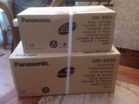 Brand new Panasonic drum unit and toner cartridge