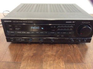 kenwood receiver, amplifier,tuner,Stereo system, audio