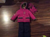 Habit de neige Peluche et Tartine 4 ans fille