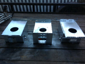 "3 Insulated Box for New Construction for 4"" pot lights- each $15"