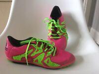 Adidas Astro turf football boots - size UK 5