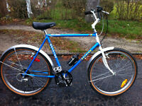 """Raleigh Big Horn 18 speed MTB - 23"""" frame suits 5'6""""-6'"""