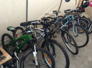 GREAT SELECTION OF USED BOYS AND GIRLS SOME ADULTS