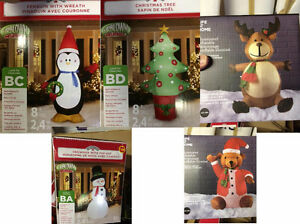 Outdoor Christmas decorations - lot