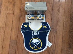 Buffalo Sabres bibs and sippy cups set