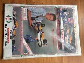 Nigel Mansells F1 Car