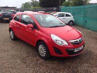 Vauxhall Corsa S 1.0i 12v ecoFLEX (red) 2012