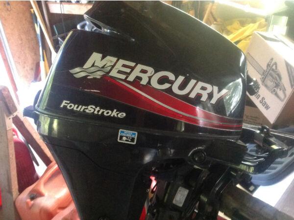 Used 2005 Mercury 9.9 4 stroke short shaft