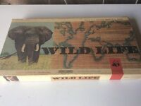 Vintage wild life board game by spears