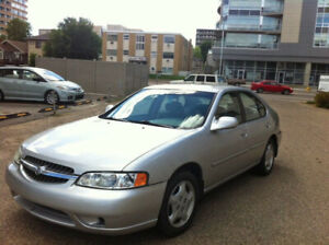 2001 Nissan Altima Trade for Motorcycle