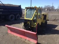 Trackless MT3 snow plow