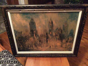 Signed Jack Laycox oil painting