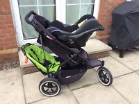 Phil & Ted Double Buggy