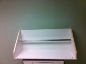 WALL MOUNTED OFF WHITE COAT RACK FOR SALE