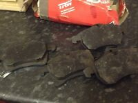 Front Brake Pads for Vauxhall Zafira 2000, brand new