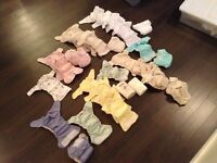 Homemade Infant All-in-one Cloth Diapers