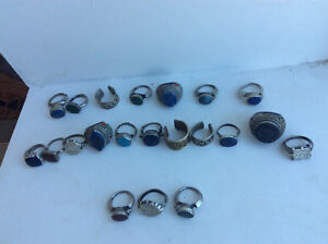 21 unique old rings for  collectors. Not fine jewelry. Handmade Windsor Region Ontario image 2