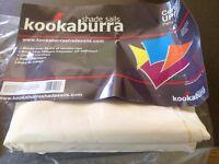 Kookaburra Ivory 4.2m x 4.2m x 6m right angle triangle shade sail