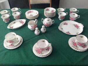 Royal Albert China Tea Set