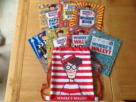 Where's Wally Complete 7 Children's Book Collection With Kitbag