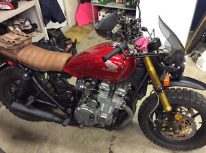 1991 HONDA CB750 NIGHTHAWK SCRAMBLER CAFE RACER NAKED BIKE