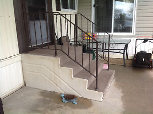 Concrete stairs $0