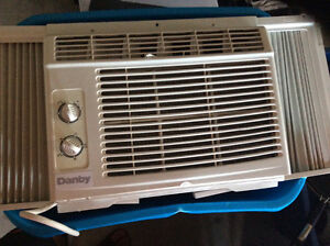 Window Air conditioner/fan 5000btu. 2yrs old Danby.
