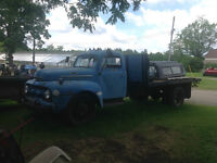1951 Ford F-6 Stake Truck - restore or rat rod