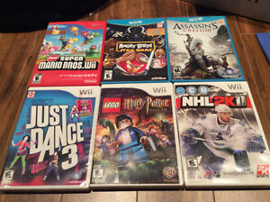 Nintendo DS  and Wii games